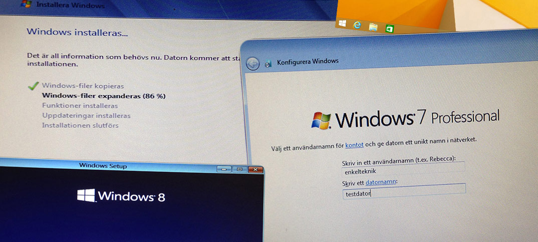 Comment installer Windows 7 sur un PC HP?